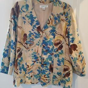 Blazer/ jacket by Coldwater Creek